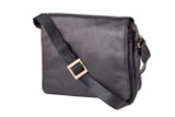 "Handmade leather messenger satchel bag ""BL-106"""