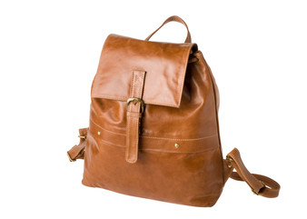 "Handmade leather backpack bag ""Kelvin"""