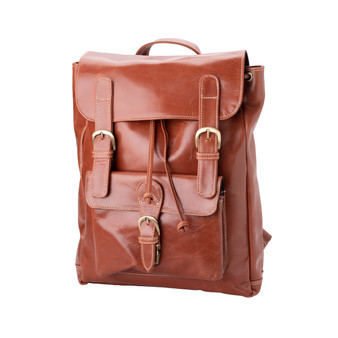 "Handmade leather backpack bag ""Nicola"""