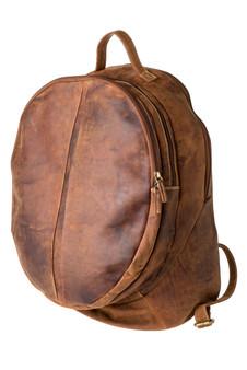 "Handmade leather backpack bag ""Carter"""