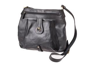 """Handmade leather shoulder bag """"Nandu"""""""