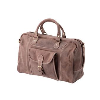 "Handmade leather travel bag suitcase ""Weston"""