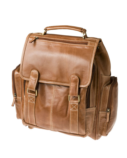"Handmade leather backpack bag ""Mohra"""