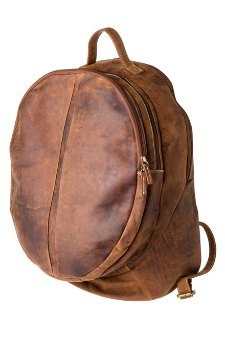 "Handmade leather backpack bag ""Carter"""
