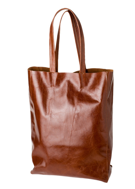 "Handmade leather shopper tote bag ""Shopper C"""