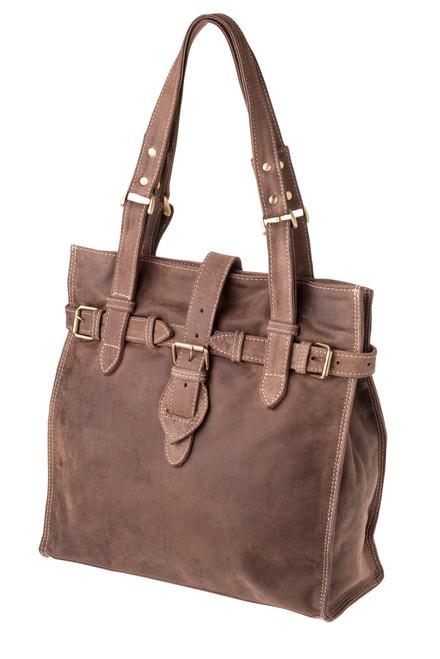 "Handmade leather handbag ""Aura"""
