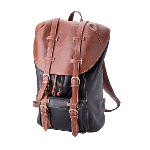 "Handmade Leather Backpack Bag ""Troy"""