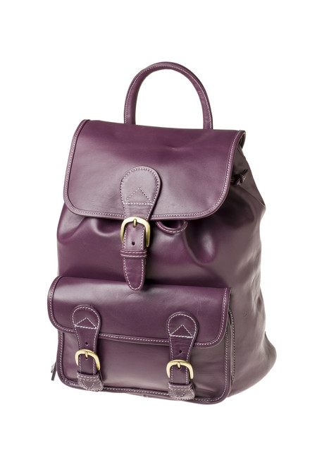 "Handmade leather backpack bag ""Andrea"""