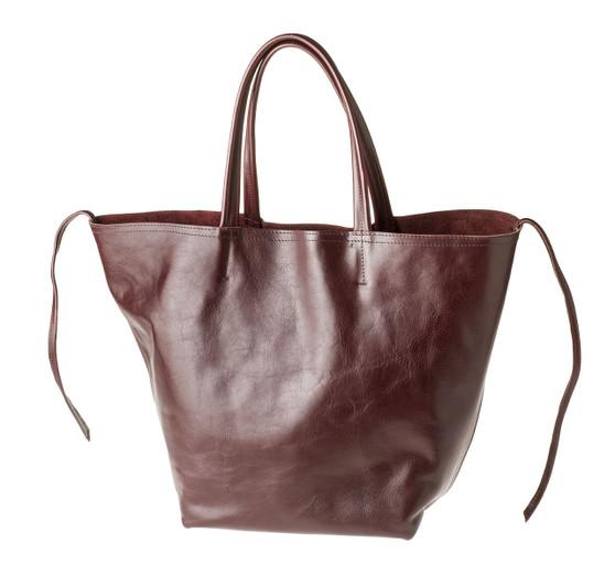 "Handmade leather shopper tote bag ""Shopper L"""