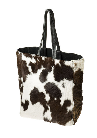 "Handmade leather shopper tote bag ""Fur Shopper"""
