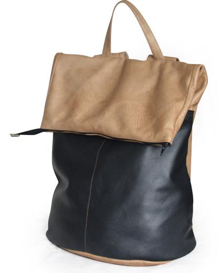 "Handmade leather backpack bag ""Neal"""
