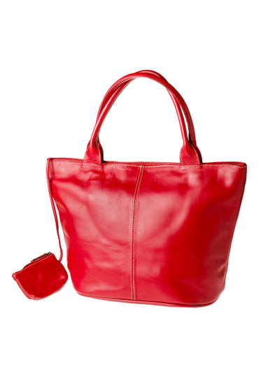 "Handmade leather shopper tote bag ""Jassi"""