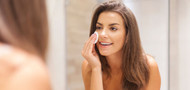 A simple evening skincare routine for sensitive skin