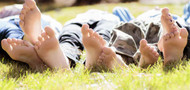 Coping with swollen feet in summer
