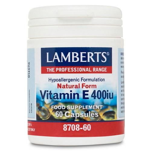 Lamberts Natural Vitamin E 400iu