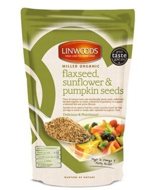 Linwoods Milled Organic Flaxseed Sunflower and Pumpkin Seeds