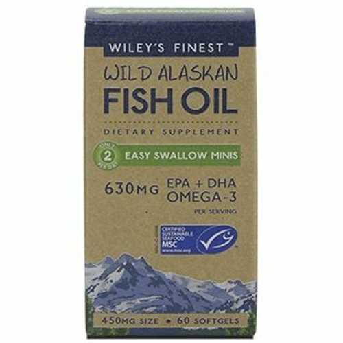 Wileys Finest Fish Oil Easy Swallow Minis