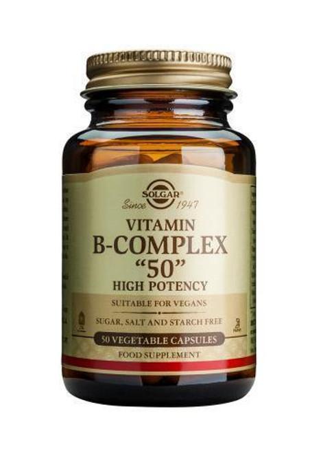 Solgar Vitamin B-Complex 50 Vegetable
