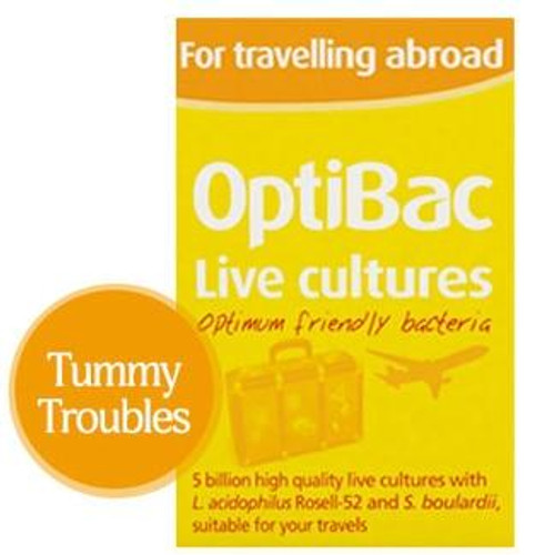 OptiBac Probiotics For Travelling Abroad