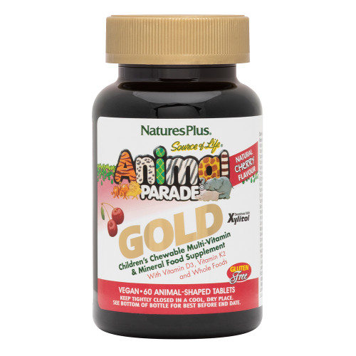 Animal Parade GOLD Childrens Chewable Multi Vitamin Cherry Flavour