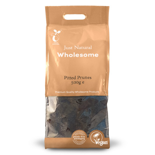 Just Natural Wholesome Pitted Prunes