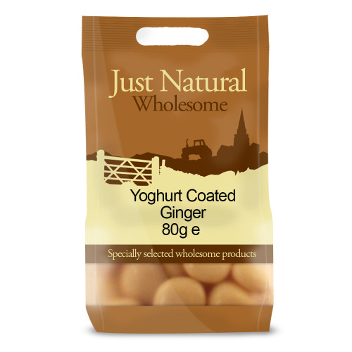 Just Natural Wholesome Yoghurt Coated Ginger