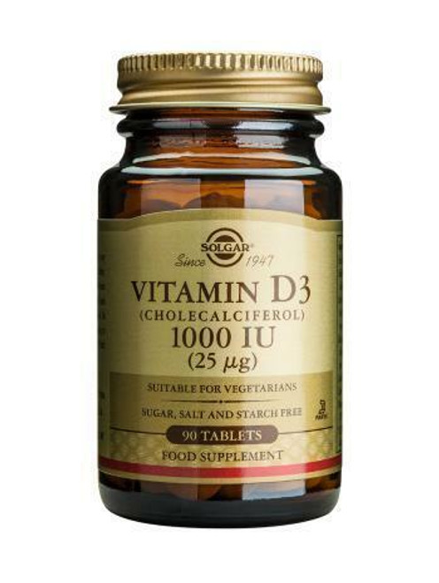 Solgar Vitamin D3 1000iu