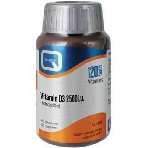 Quest Vitamin D3 2500iu