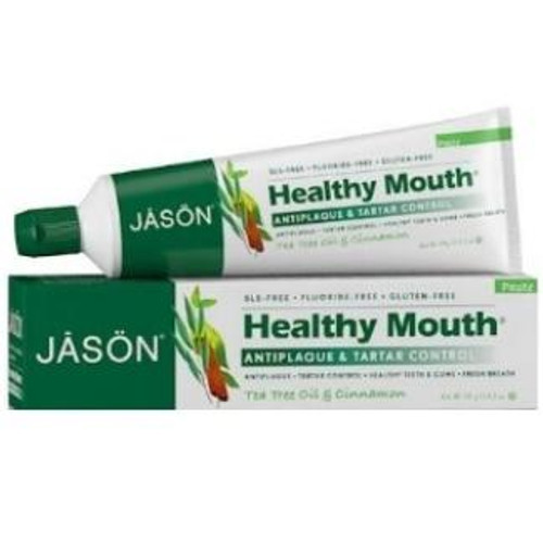 Jason Healthy Mouth Antiplaque and Tartar Control Toothpaste