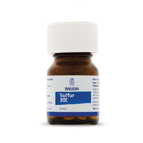 Weleda Sulphur Homeopathic - 30c