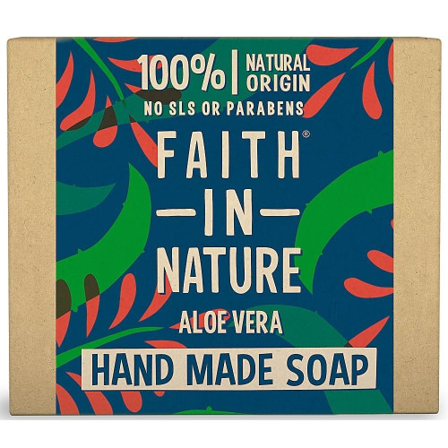 Faith in Nature Hand Made Pure Vegetable Soap Aloe Vera