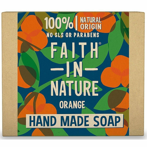 Faith in Nature Hand Made Pure Vegetable Soap Orange