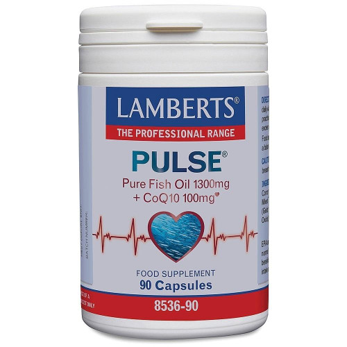 Lamberts Pulse Pure Fish oil 1300mg CoQ10 100mg