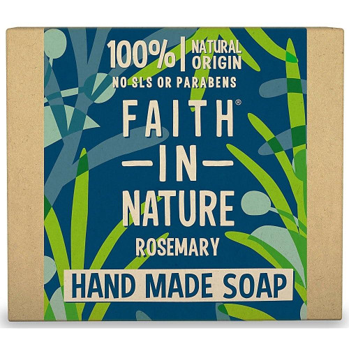 Faith in Nature Hand Made Pure Vegetable Soap Rosemary