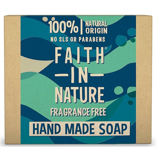 Faith in Nature Hand Made Pure Vegetable Soap Fragrance Free