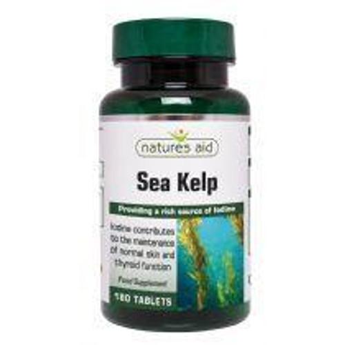Natures Aid Sea Kelp 187mg