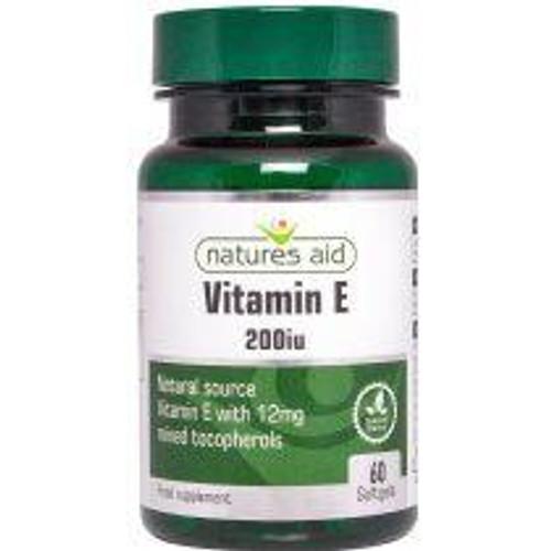 Natures Aid Vitamin E Natural 200iu