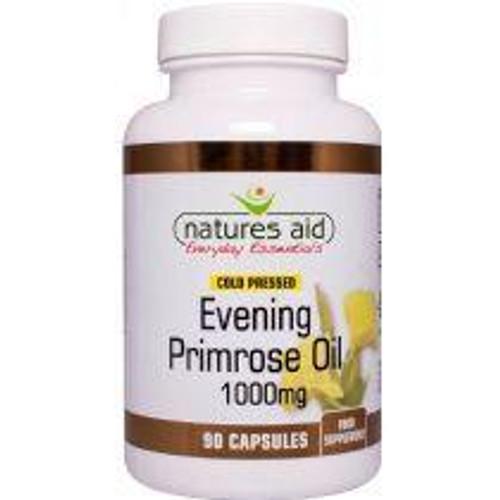 Natures Aid Evening Primrose Oil Cold Pressed