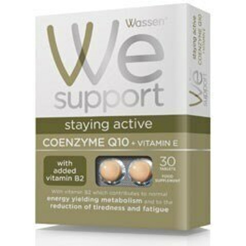 Wassen We Support Coenzyme Q10 with Vitamin E