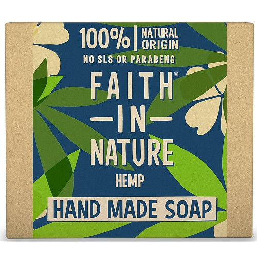 Faith in Nature Hand Made Pure Vegetable Soap Hemp