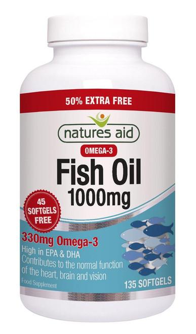 Natures Aid Fish Oil