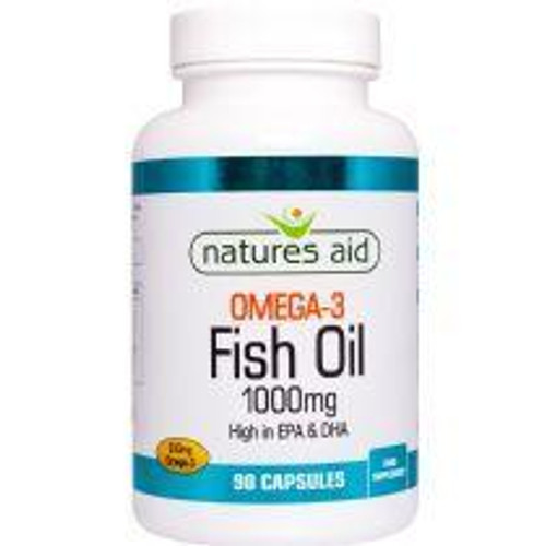 Natures Aid Fish Oil 1000mg Extra Fill