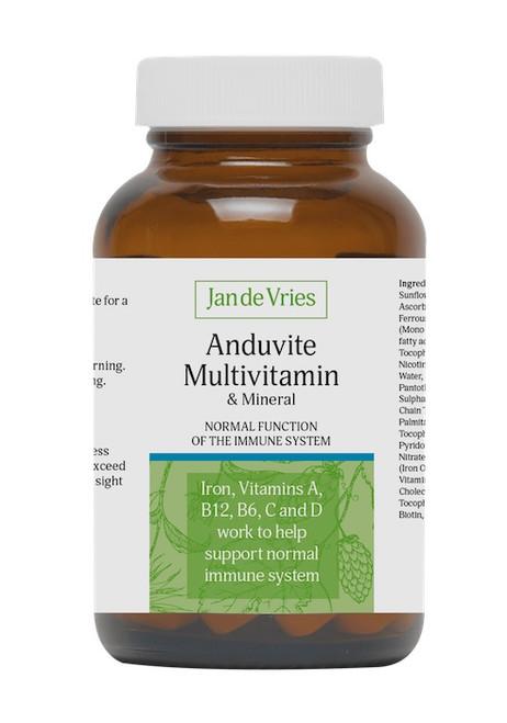 Jan de Vries Anduvite Multivitamin and Mineral