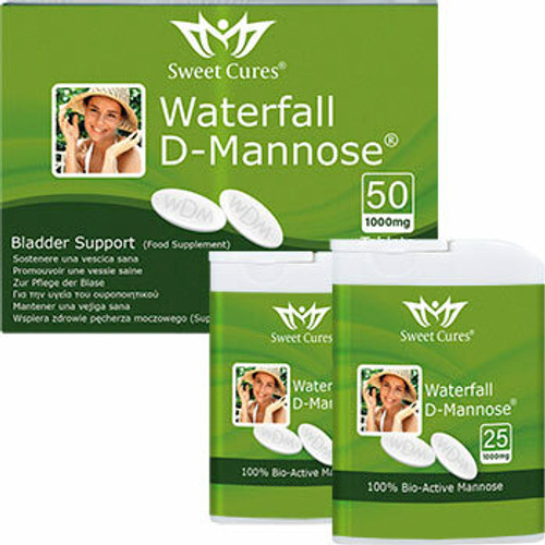 Sweetcures Waterfall D-Mannose