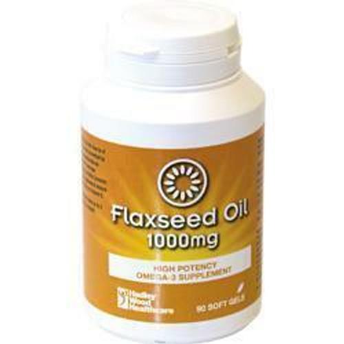 Hadley Wood Flax Seed Oil 1000mg