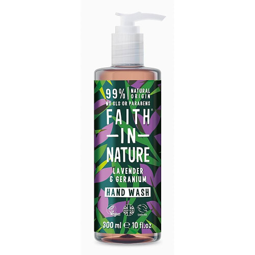 Faith in Nature Geranium and Lavender Natural Hand Wash
