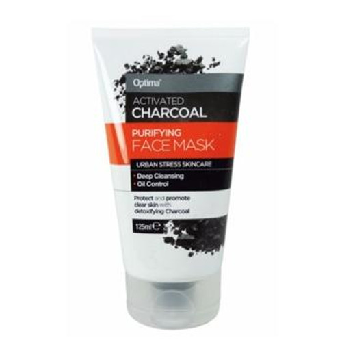 Optima Activated Charcoal Purifying Face Mask