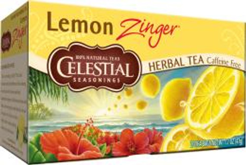 Celestial Seasonings Lemon Zinger Tea 20s