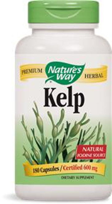 Natures Way Kelp 600mg