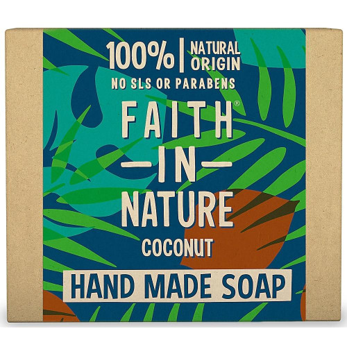 Faith in Nature Hand Made Pure Vegetable Soap Coconut